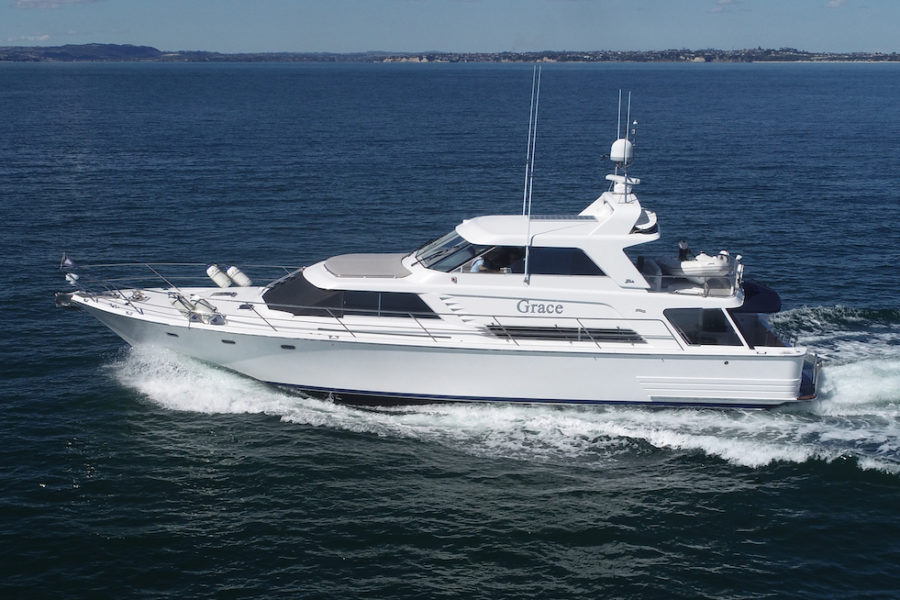 18m Pilothouse – Grace